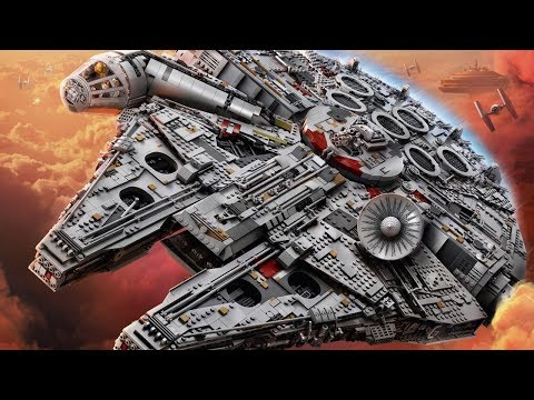 LEGO Star Wars UCS Millennium Falcon 75192 Designer Video