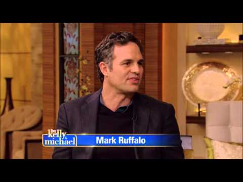 Mark Ruffalo Live! With Kelly and Michael 2015 04 28