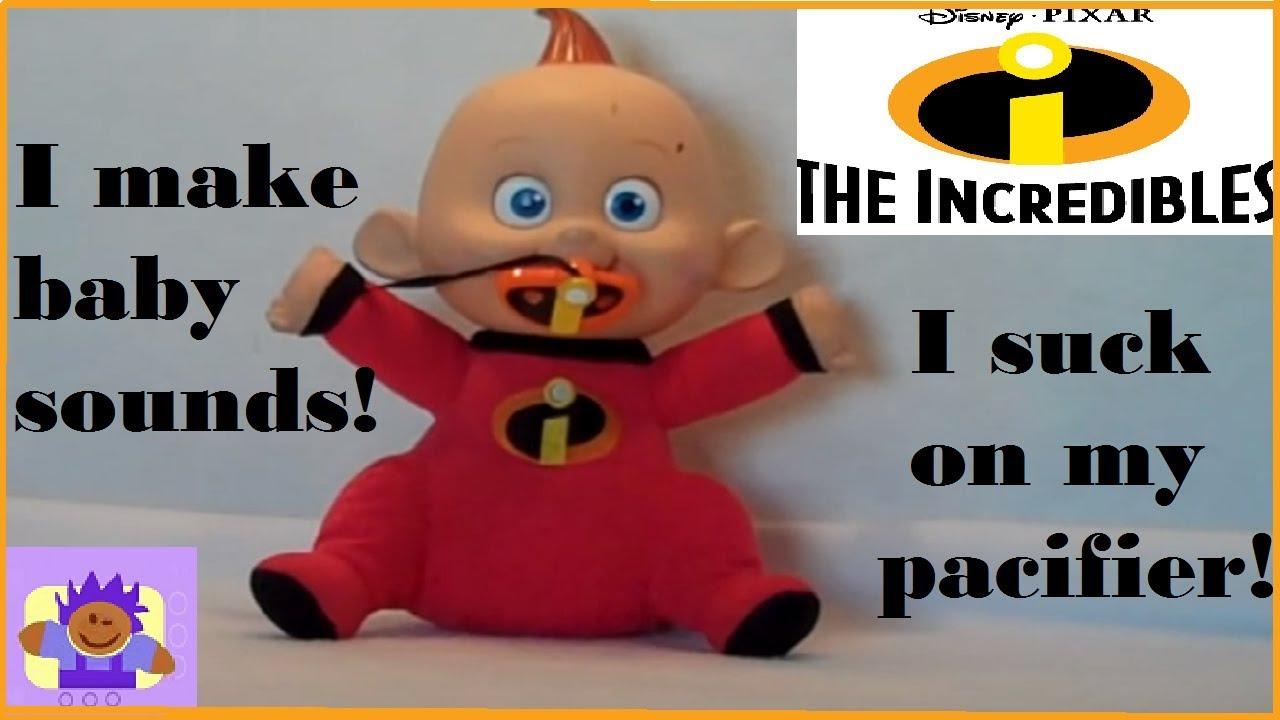 Pixar The Incredibles JACK