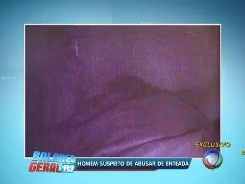 Homem aproveita sono de enteada para cometer abuso sexual; veja o flagrante