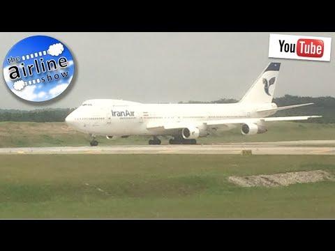 Iran Air - Boeing 747-200 Classic at Kuala Lumpur International Airport
