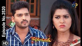 Manasu Mamata | 16th  February 2019  | Full Episode No 2520 | ETV Telugu