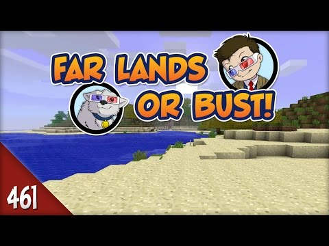 Minecraft Far Lands or Bust - #461 - Barbershop Anxiety