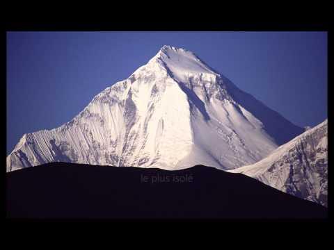 Top 10 des plus hauts sommets du monde #1