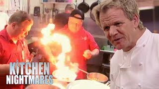 Gordon FORCES Owners To Clean Their Own Restaurant | Kitchen Nightmares