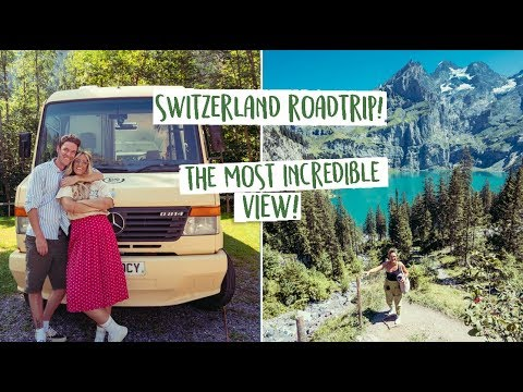 SWITZERLAND ROAD TRIP in our BUS!