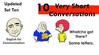 10 Very Short Conversations | Set 10 | English Speaking Practice | ESL | EFL