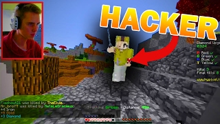 DESTOYING HACKERS BED (Minecraft Bed Wars #6)
