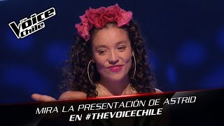 The Voice Chile | Astrid Veas - Close to you