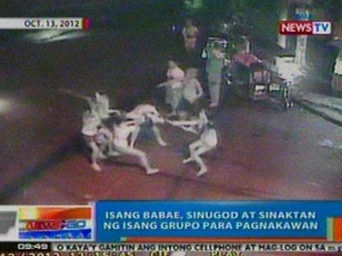 NTG: Isang babae sa Caloocan, sinugod at sinaktan ng isang grupo para pagnakawan