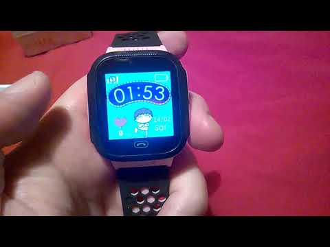Smartwatch for children with a camera