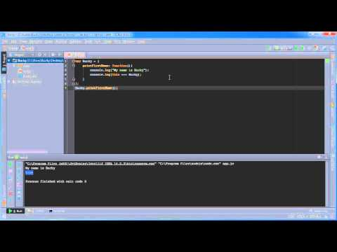 Node.js Tutorial for Beginners - 6 - this