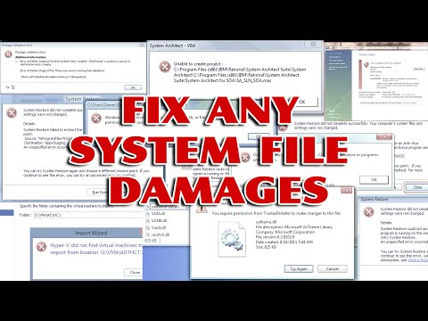 How to repair a corrupt system files without any software download [ Easy windows Tips ] thumbnail