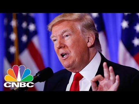 Donald Trump Press Conference- January 11, 2017 (Full) | CNBC