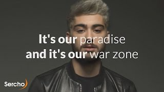 ZAYN PILLOWTALK Lyrics with video Sercho