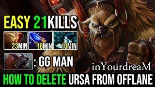 inYourdreaM [Earthshaker] 10Min Blink Delete Ursa From Offlane 21Kills Crazy Funny Plays Dota 2