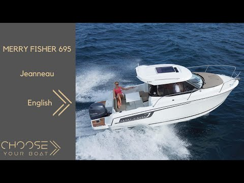 MERRY FISHER 695 by JEANNEAU: Guided Tour Video (English)