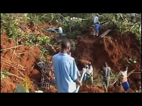 Deadly landslide hit Uganda