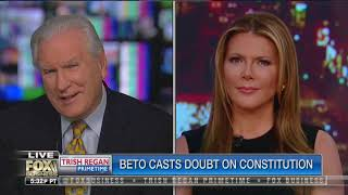 Beto casts doubt on the Constituion