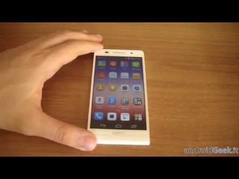 Huawei Ascend P6: Android 4.4 Kitkat video