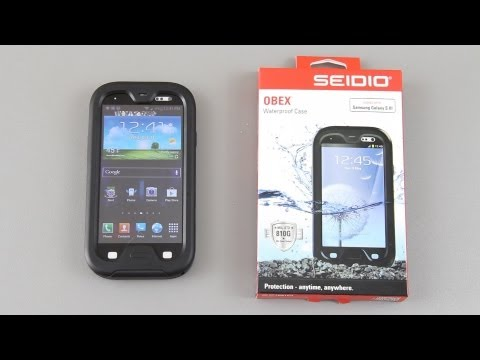 Seidio OBEX Water Proof Case for the Samsung Galaxy S III Part 1