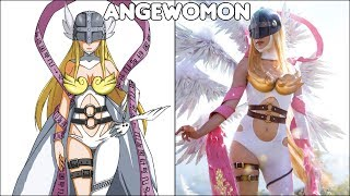Digimon Characters In Real Life