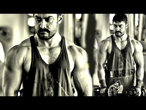 Aamir Khan's Gym Bodybuilding Look For DANGAL Leaked thumbnail