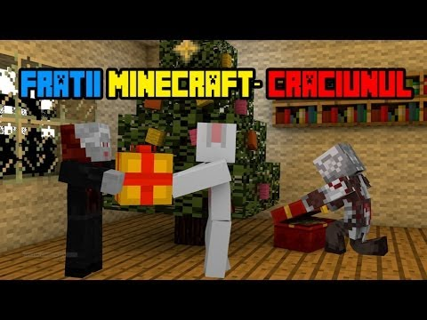 Fratii Minecraft - Craciunul (HD)