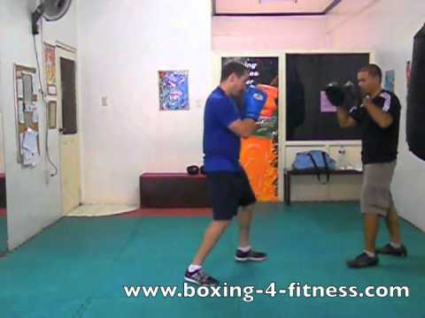 Boxing Focus mitts drill - Basic  Defense with John Tomkins Image 1