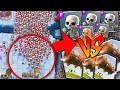 ¡¡ 150 ESQUELETOS VS. EL TRONCO !! El DUELO MAS ÉPICO de Clash Royale [ByMaxx]