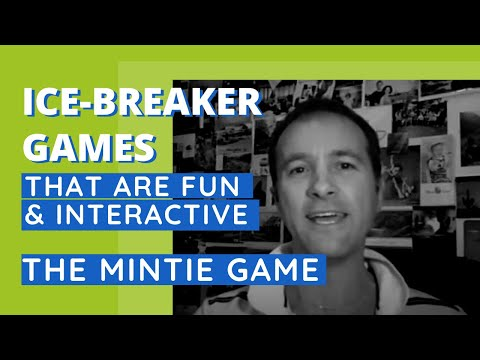 The Mintie Game - fun, interactive ice-breaker for groups