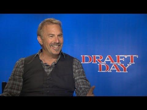 DRAFT DAY Interviews - Kevin Costner, Arian Foster, Terry Crews, Jennifer Garner, More