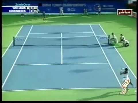 Venus Williams vs Anna Kournikova 2002 Dubai Highlights