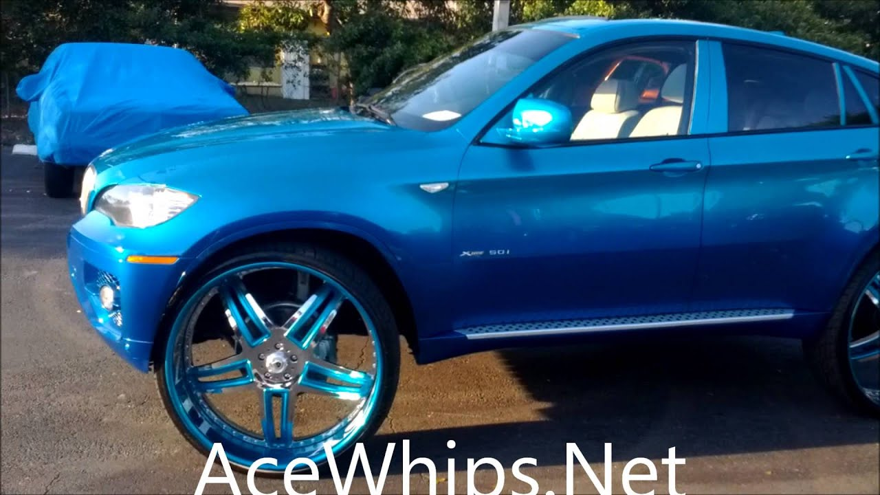 Acewhips Net Twin S Candy Teal Bmw X6 On 30 Quot Asantis