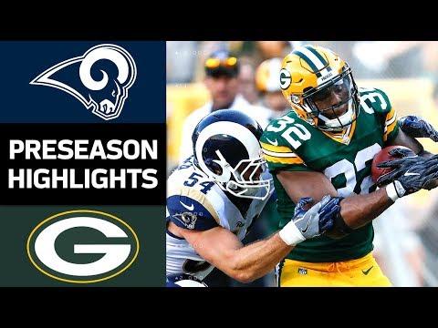 Rams vs. Packers | NFL Preseason Week 4 Game Highlights