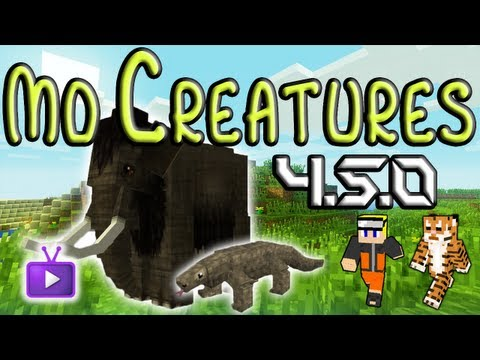 Mod Spotlight: NEW Mo' Creatures 1.4.7 (v4.5.0,4.5.1) - Elephants, Komodo Dragons, and NEW Ostriches