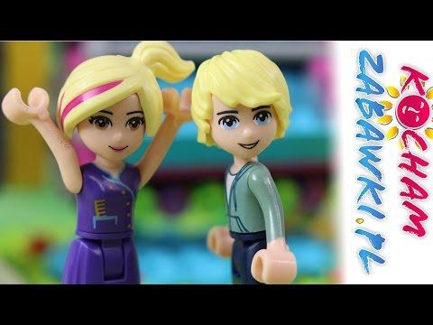 Randka w parku rozrywki - Lego Friends & Lego Vaiana - Bajki dla dzieci