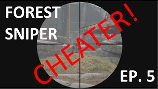 AWP Sniper 5 | CHEATER! | Airsoft Sniper Scopecam | Panther Paintball