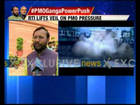 Prakash Javadekar responds on exclusive story of NewsX