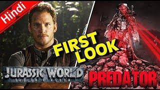 Jurassic World 2 & The Predator FIRST LOOK & Trailer Release UPDATE