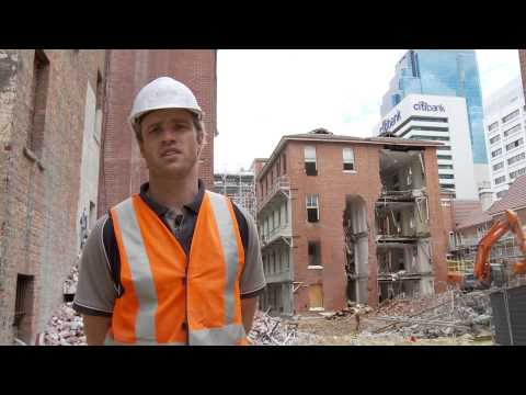 Construction industry video by HardHat Media for Focus Demolition - Treasury Site, Perth