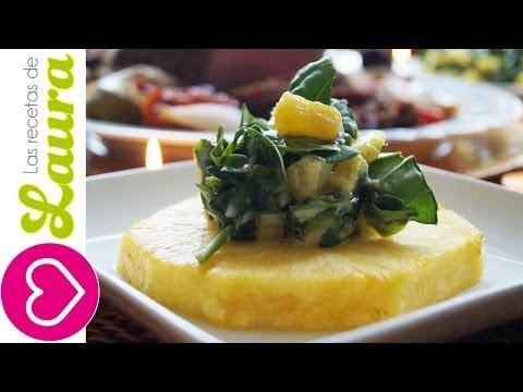 Ensalada Navideña - Recetas de Navidad - Christmas Salad Recipe