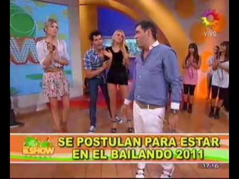 Gabriela Mandato Candidata Al Bailando Por un Sueño 2011