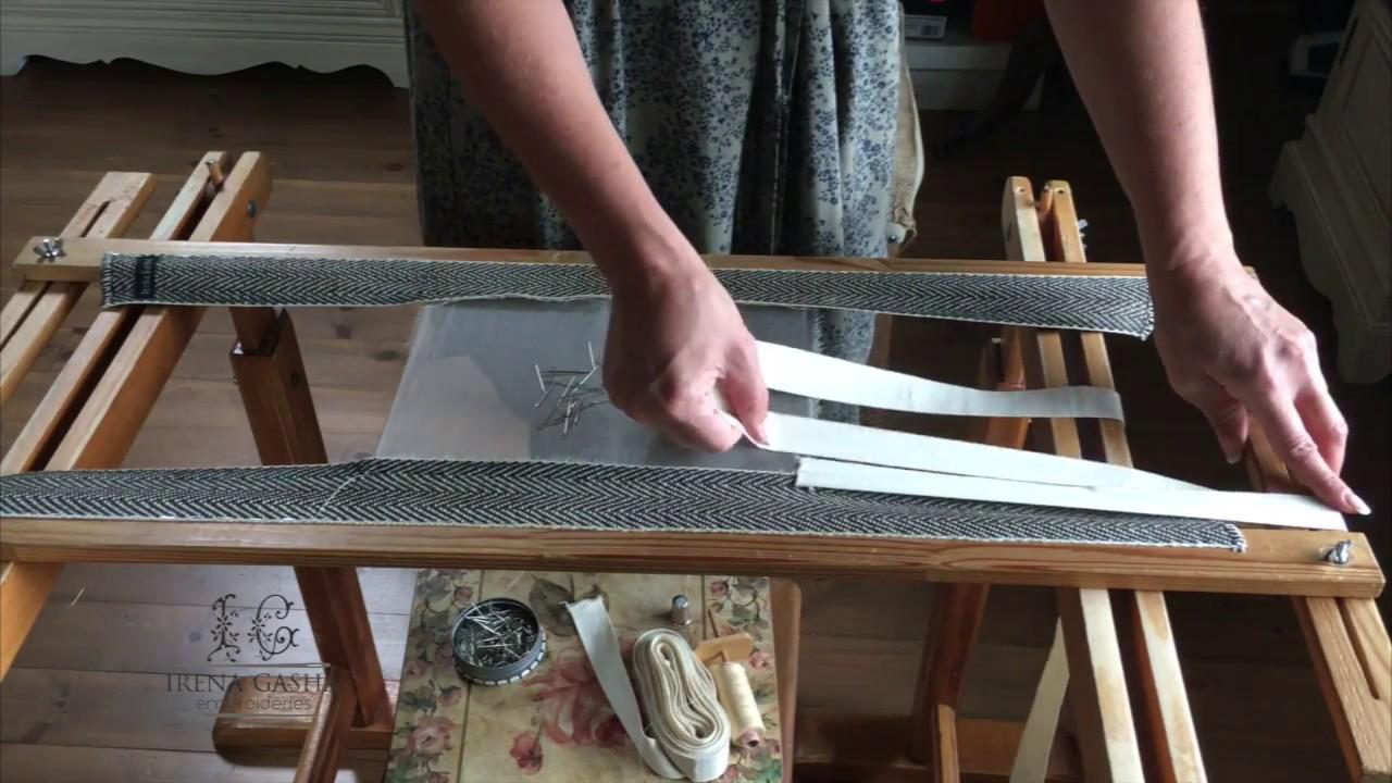 Рамка для люневильской вышивки 55