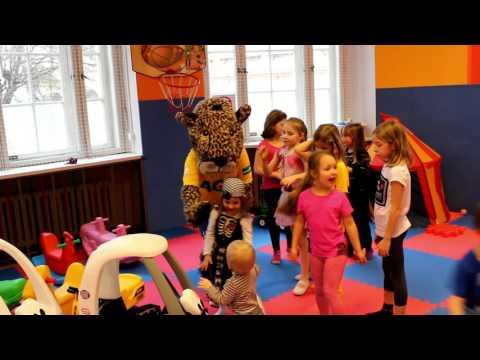 Gepardice Jane na narozeninové oslavě (21.2.2016)