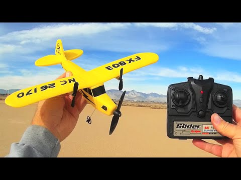 FX803 The World's Cheapest RC Airplane Glider