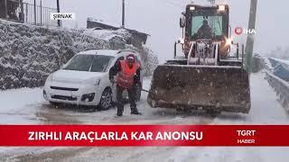 Zırhlı Araçlarla Kar Anonsu