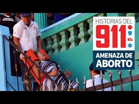 Amenaza de aborto.