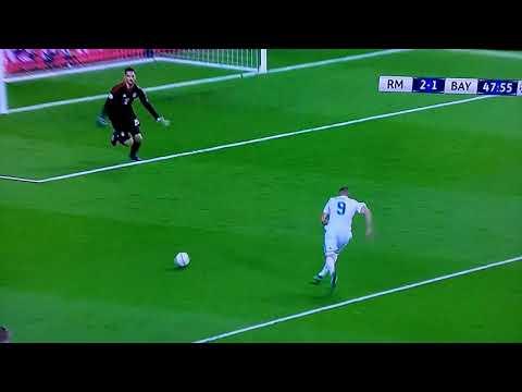 Real Madrid - Bayern München Ulreich mistake thumbnail