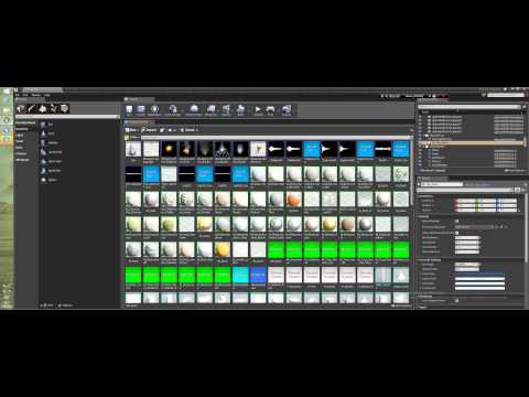 Уроки Unreal Engine 4 - Content Browser